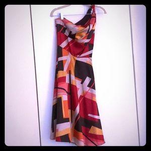 London Times one shoulder dress